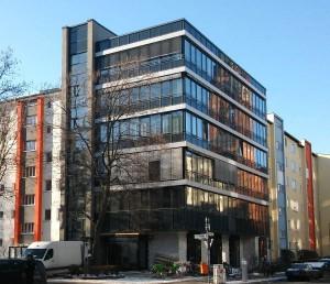 Bürogebäude an der Ecke Prinzen-/Wassertorstraße