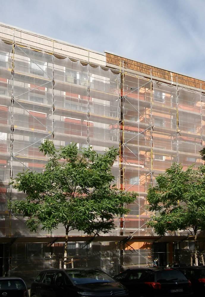 Neue Farben für die Fassaden – Bewohnergenossenschaft FriedrichsHeim eG