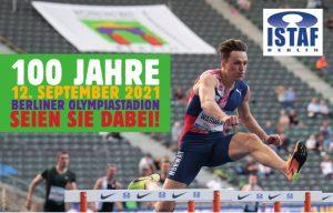 100 Jahre ISTAF Berlin, 12. September 2021, Berliner Olympiastadion, Seien Sie dabei! - Hürdenläufer