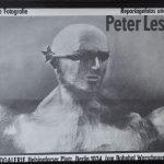 Ausstellungsplakat 1989: Peter Leske