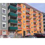 Helsingforser Str. Fassadenfarben Vorschlag 3 orange-rot-grau