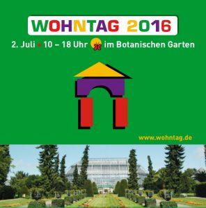 Einladung Botanischer Garten 02.07.2016