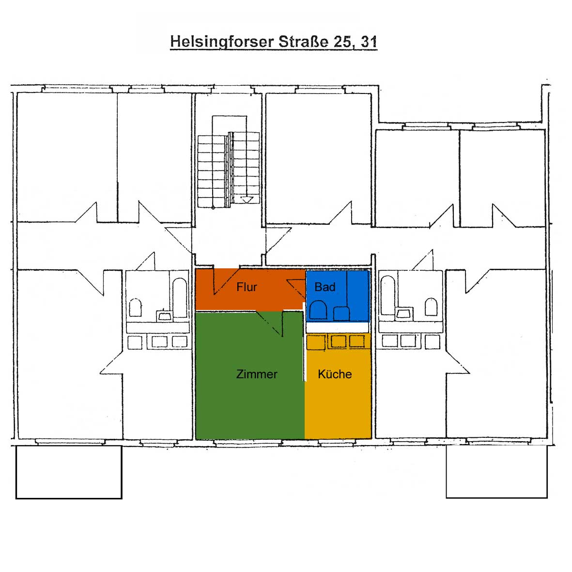 Grundriss Helsingforser Straße 25, 31, OG Mitte
