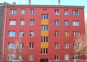 Hübnerstraße 13, Fassade