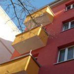 Hübnerstraße 13 Balkone