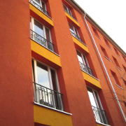 Hübnerstraße 2-3, Fenster-Detail