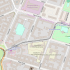 Hübnerstraße 2-3/Weidenweg 73 Stadtplanausschnitt