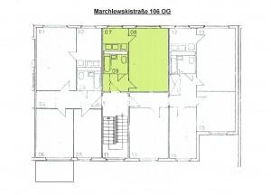 Grundriss Marchlewskistraße 106, OG Mitte