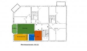 Grundriss Marchlewskistraße 108, OG links
