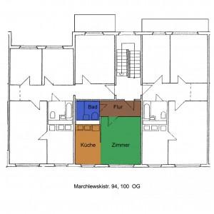 Grundriss Marchlewskistraße 94, 100, OG Mitte