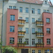 Proskauer Straße 18 Ansicht Straßenfassade