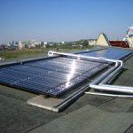 Proskauer Straße 18, Solaranlage auf dem Dach
